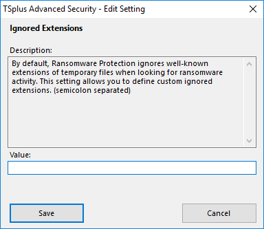 Advanced Ransomware Settings 3